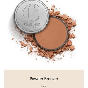 NIB Cargo Cosmetics Powder Bronzer in Medium